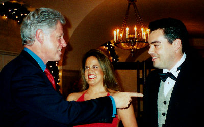 A Holiday Surprise from Bill Clinton