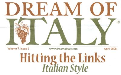 Hitting the Links Italian Style